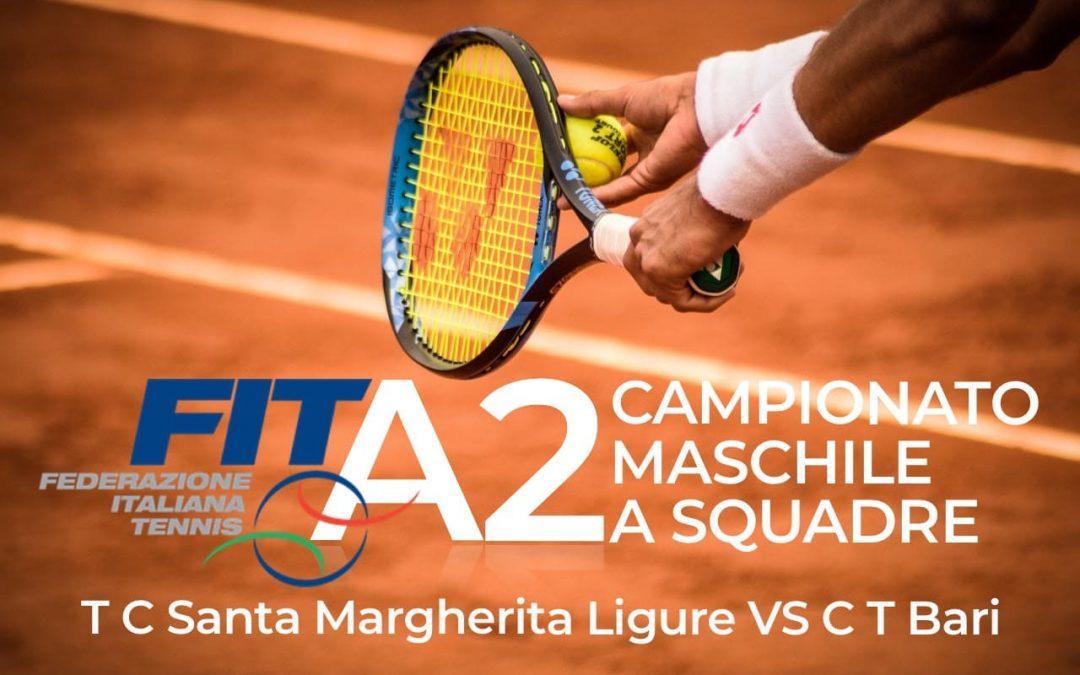I video della vittoria del TC Santa Margherita sul CT Bari per 4-2