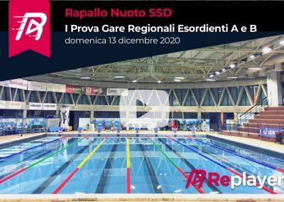 Rapallo Nuoto: Gare Regionali Esordienti