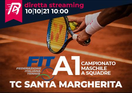 TC Santa Margherita esordisce nel campionato A1 di tennis maschile a squadre